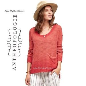Anthropologie {Moth} ombré waffle pullover